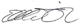 Signature Elhadji Mamadou Diarra